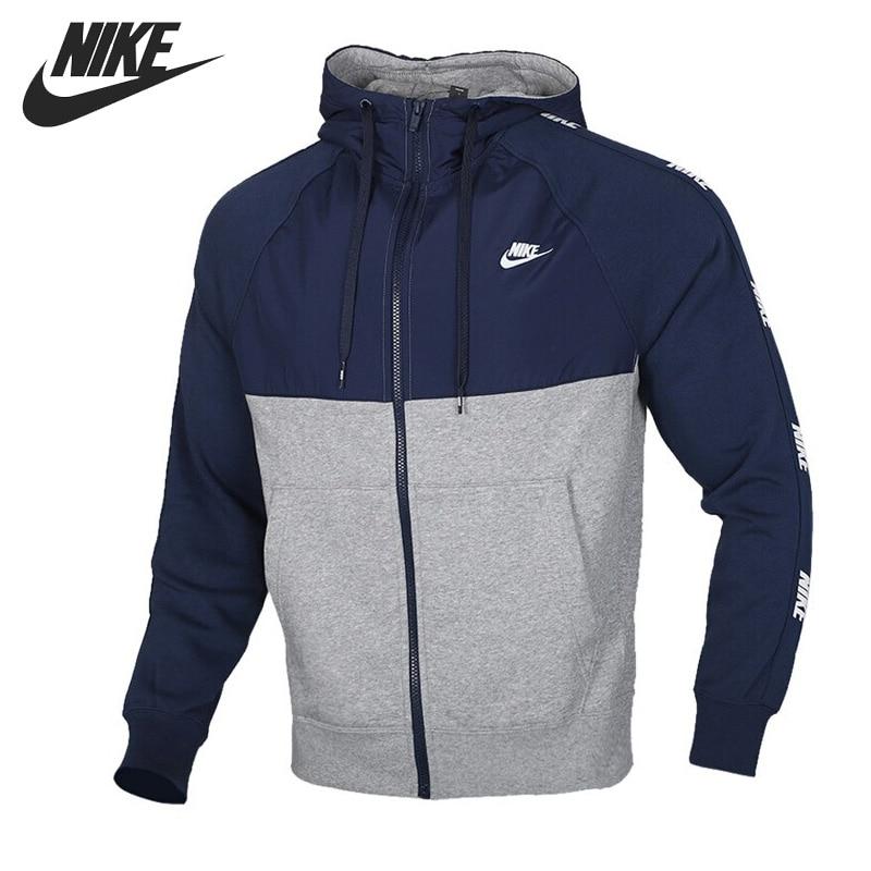 Original New Arrival   NIKE M NSW CE HOODIE FZ BB HYBRID Men's  Jacket Hooded  Sportswear