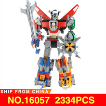 цены 16057 Movie Ideas Series The Compatible legoed 21311 Voltron Defender of The Universe Model Set Building Blocks Bricks Children