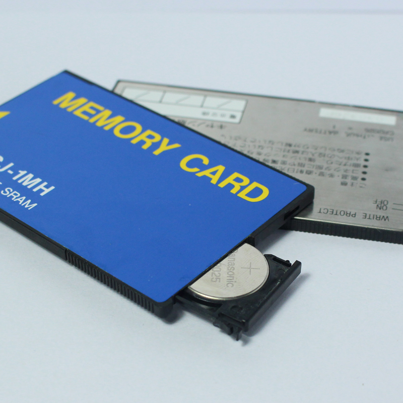 Promotion!!!Industrial Equipment Storage 1M BYTE SRAM ATA Flash Memory Card 1MB PCMCIA PC Card Memory Card