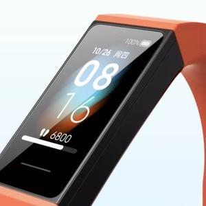 Image 5 - Stokta Xiaomi Redmi bant yeni 4 bileklik 5 kalp hızı spor spor izci su geçirmez bilezik dokunmatik büyük akıllı renk ekran
