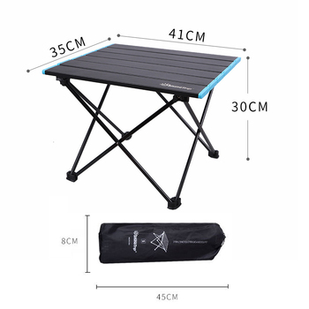 Portable Camping Table Outdoor Aluminum Folding Table BBQ Picnic Table Garden Desk Ultra-Light Furniture Hiking Travel Equipment giantex portable outdoor furniture set table 4 chairs set garden camp beach picnic folding table set with carrying bag op3381re