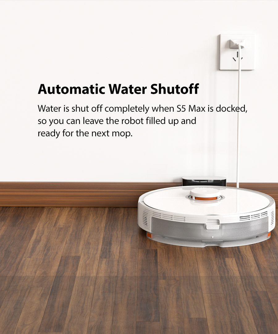 Hfcab53a4256b4229b6ca693087e39ee6I 2020 New Arrival Roborock S5 Max Robot Vacuum Cleaner Xiaomi Mijia S5max cordless for home upgrade of S50 S55 collect pet hairs