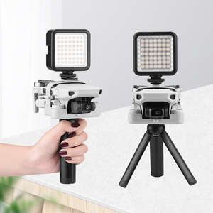 Image 2 - DJI Mavic Mini/Mavic Mini 2 el kavrama Tripod Gimbal el PTZ sabitleyici eylem kamera tutucu Tripod aksesuarları