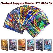 От 100 до 300 шт не повторяется игра для игровая коллекция карт игрушки для торговли GX MEGA EX Battle Carte игрушка на английском языке