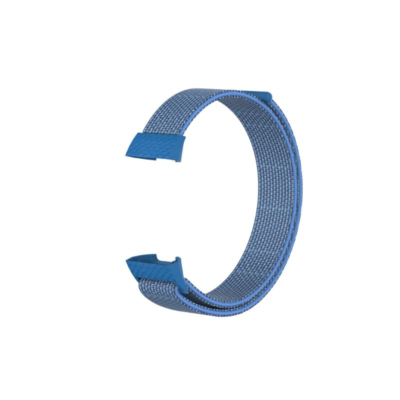 Fashion Replacement Sport Nylon Loop Wrist Band Watch Strap For Fitbit Charge 3 Bracelet in Smart Accessories from Consumer Electronics