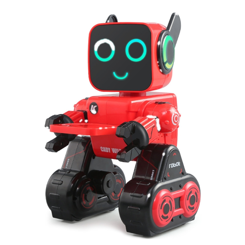 Cute Electric Intelligent Remote Control Robot Singing Dancing Programming Toy 203E