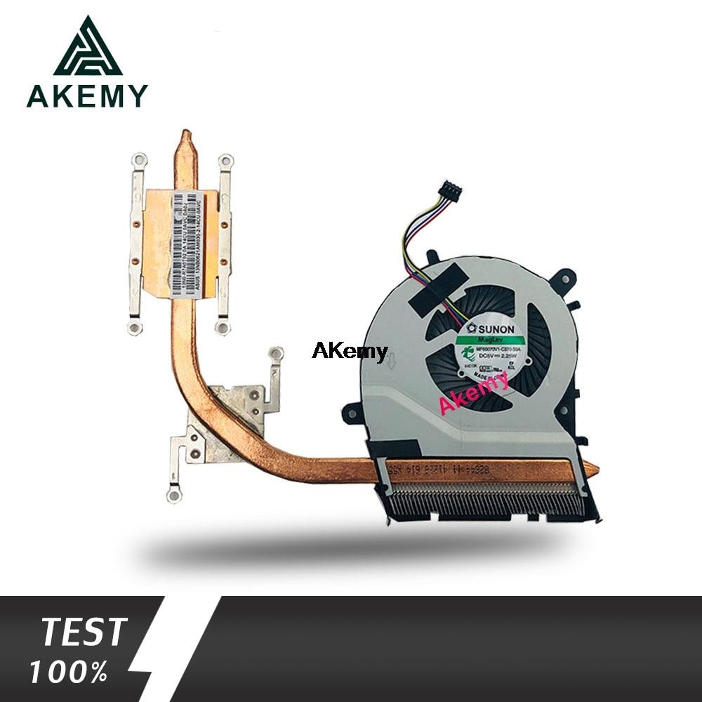 New Original CPU Cooling heatsink Fan For ASUS X555LD R557L X555 X555L X555LJ fan Cooler KSB0605HBA03 13N0-SWA0201 discrete