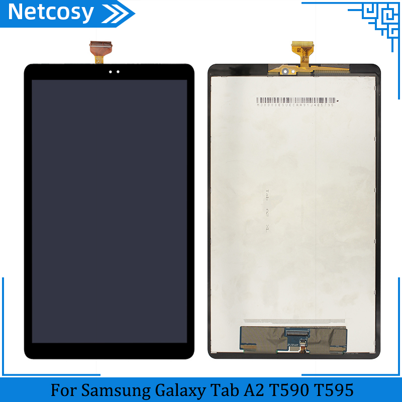 For Samsung Galaxy Tab A2 T590 T595 SM-T595 SM-T590 LCD Display Touch Screen Digitizer Assembly Replacement