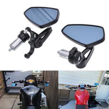 Motorcycle Bar End Handlebar Mirrors For BMW GS 1200 R1100RT K1300S K75 NINET F850GS R1200GS LC F700GS R1250GS F800 image