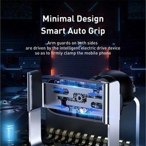 Image 3 - Baseus מיני אינטליגנטי אינפרא אדום מכונית טלפון בעל רכב מחזיק עבור טלפון במכונית נייד Stand עבור iPhone 11 Pro מקסימום