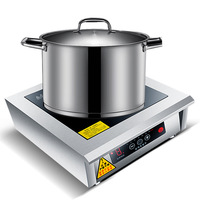 Commercial Induction Cooker 5000W Plane High Power Hotel With Oyster Soup, Water Stirring, Induction Cooker WM 501X