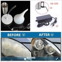Автомобильный Реставратор для фар, ремонт, восстановление, Паровая полировка, химический инструмент, очиститель фар, отремонтированный полировальный полировщик, евровилка