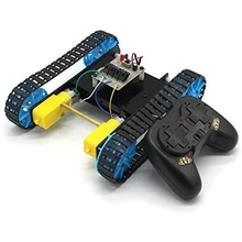 Toy Robot-Kit Tank-Model Crawler Remote-Control-Chassis Vehicle RC Smart DIY with