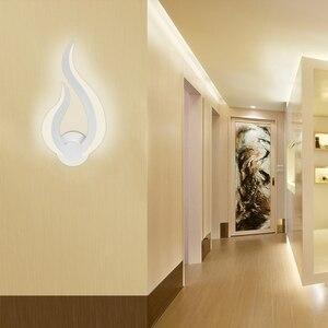 Image 5 - Ledgle 10W Đèn LED Dán Tường Đầu Giường Hiện Đại Đèn Wandlamp Sconce Dán Tường Nhà Phòng Ngủ Phòng Khách Hành Lang nghệ Thuật Trang Trí