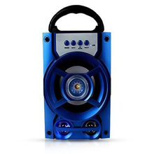 Портативный Bluetooth динамик, беспроводная басовая стерео звуковая система со светодиодным светильник, динамик с поддержкой TF карты, fm-радио, д...