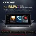 XTRONS 10,25 дюйма Qualcomm Snapdragon Bluetooth 5,0 Android 10,0 автомобильный радиоплеер GPS для BMW X1 E84 2009-2015 без оригинального дисплея