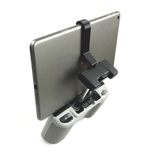 2 in 1 cellphone tablet extended holder adjustable stand for futaba 10c t8fg phantom 3 standard remote controller for iPad Mini and 125-155mm Tablet Computers Remote Control Extended Bracket Flat Stand Tablet Holder For DJI Mavic Air 2 Drone