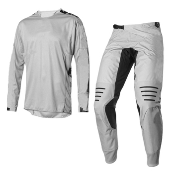 NEW MX WHIT3 Label Gray Jersey Pants Adult Motocross Gear Set Motobiker Racing Gear Combination