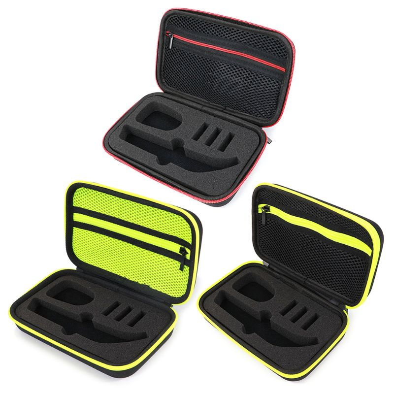 Portable Shaver Case OneBlade Trimmer And Accessories EVA Travel Bag Zipper Storage Pack Box Pro QP150/QP6520/QP6510
