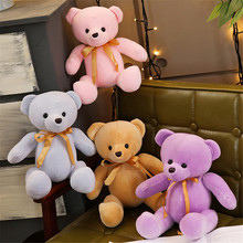 22cm Cute Teddy Bear Doll Plush Toys Stuffed Animal Small Bear Toy Plush Doll Children Toy Girls Birthday Gifts 60cm new style lovely teddy bear plush toys stuffed plush doll toy teddy bear children toy girls birthday gift