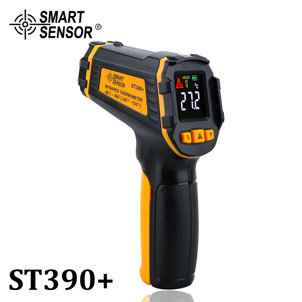 Non Contact Infrared Thermometer Gun to Measure Surface Temperature of Hazardous Object 1