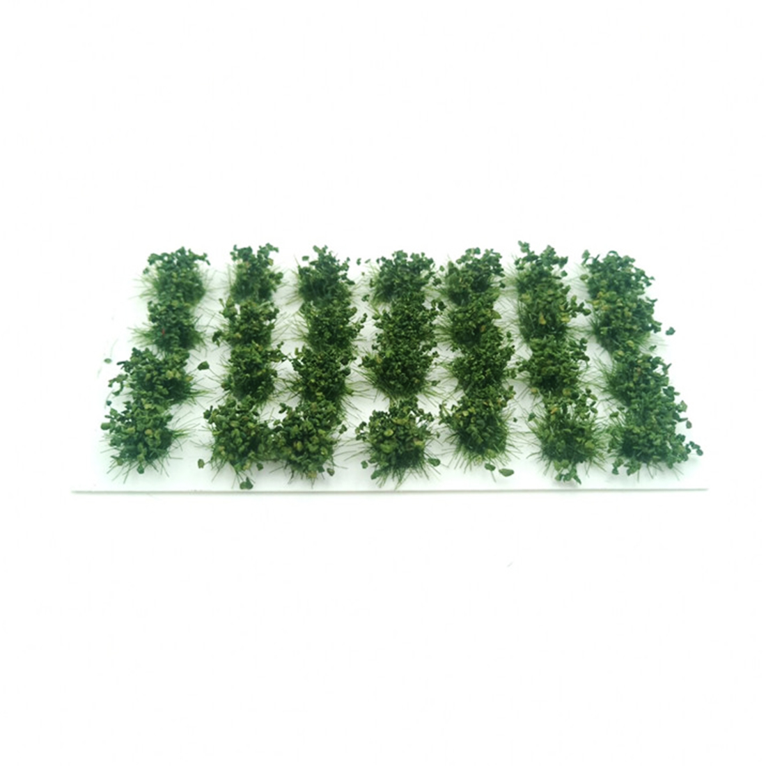 28Pcs/Set Simulated Bush Landscape Miniature Model Scene For 1:35/1:48/1:72/1:87 Scale Sand Table Miniatures Landscape - Green