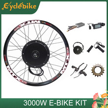 135mm ausfallenden e-bike kit 48V-72V 3000w e bike conversion Kit 90 km/h geschwindigkeit 3000W ebike conversion kit