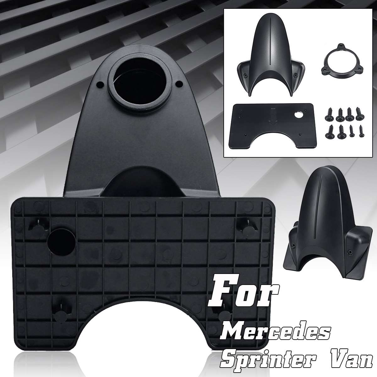 Replacement Reverse Rear View Backup Camera Case Housing For Mercedes Sprinter Van Car Camera Replacement Housing Parts ABS