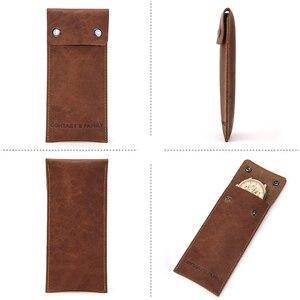 Image 2 - Защитная сумка для часов из натуральной кожи, стильные зеленые брендовые дорожные Чехлы для влюбленных