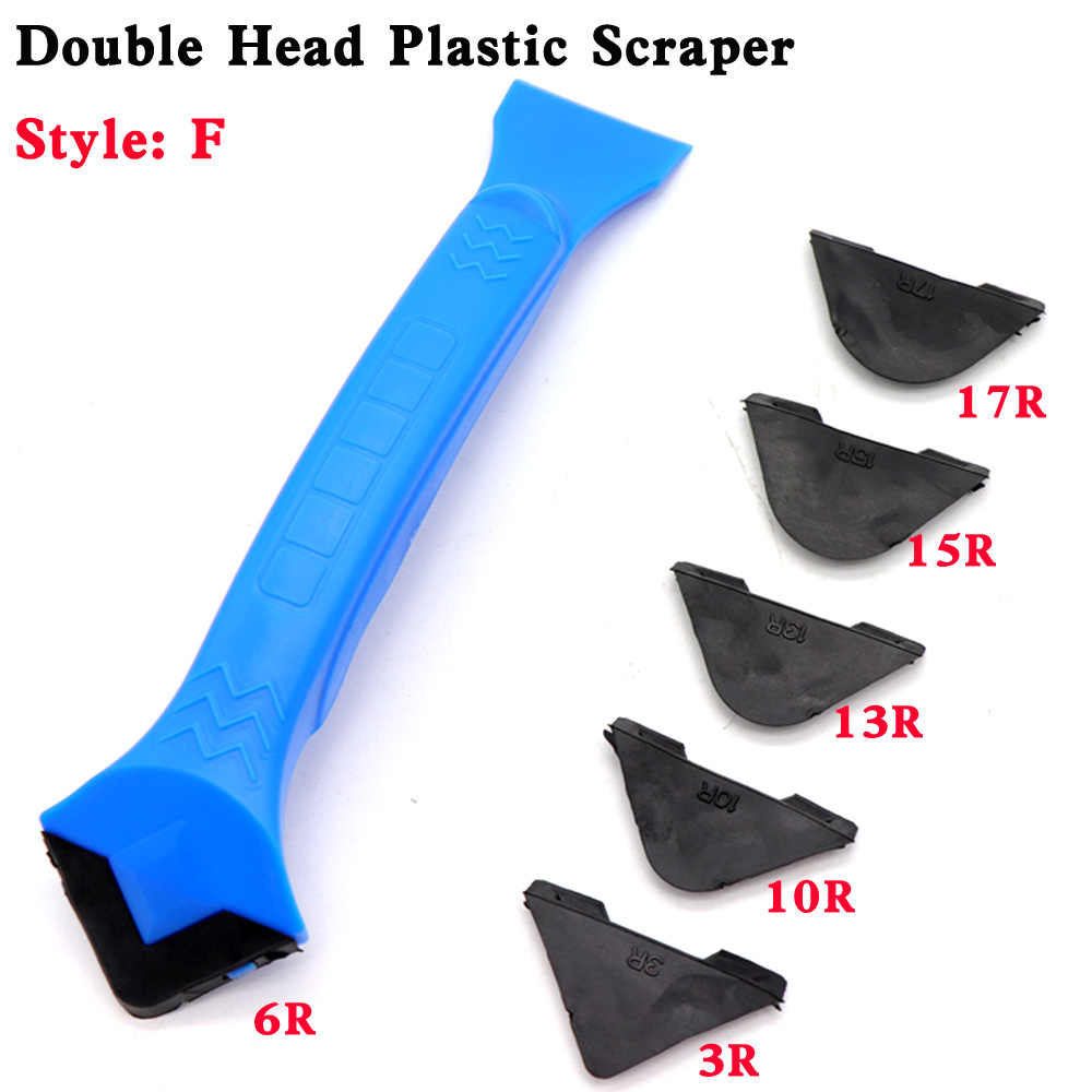 Silicone Glass Cement Scraper Tool Caulking Sealant Finishing Grout Floor Cleaning Tile Dirt Tool Spatula Glue Shovel
