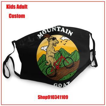 Latest popularity DIY mascarilla reutilizable Mountain-goat Biking Kids adult men women washable reusable face mask adult