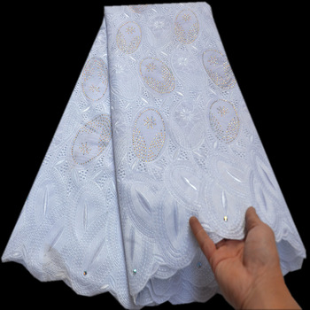 White African Lace Fabric High Quality Swiss Voile Lace In Switzerland High Quality Nigerain Lace Fabric For Party Dress mv462