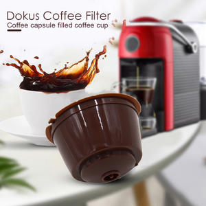 FILTER-CUP Dolce Gusto Reusable Coffee Capsule Stainless-Steel Nescafe