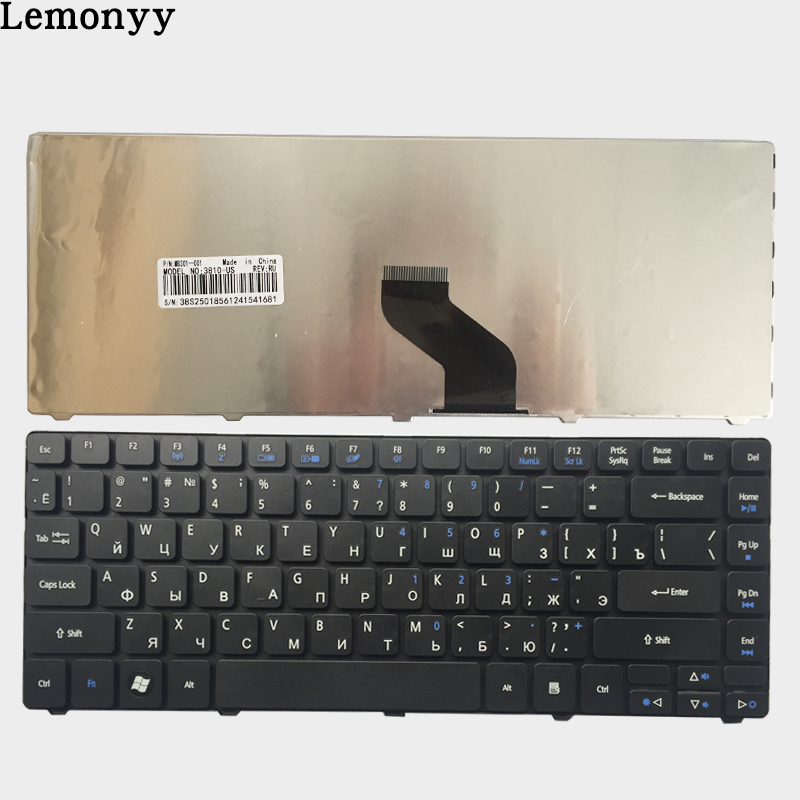 NEW Russian/RU Keyboard for <font><b>Acer</b></font> Aspire 4733 4733Z 4735 <font><b>4736</b></font> 4736G 4535g 4736Z 4738 4738G 4738z 4810 4810T 4820T 4935 4350 4350G image
