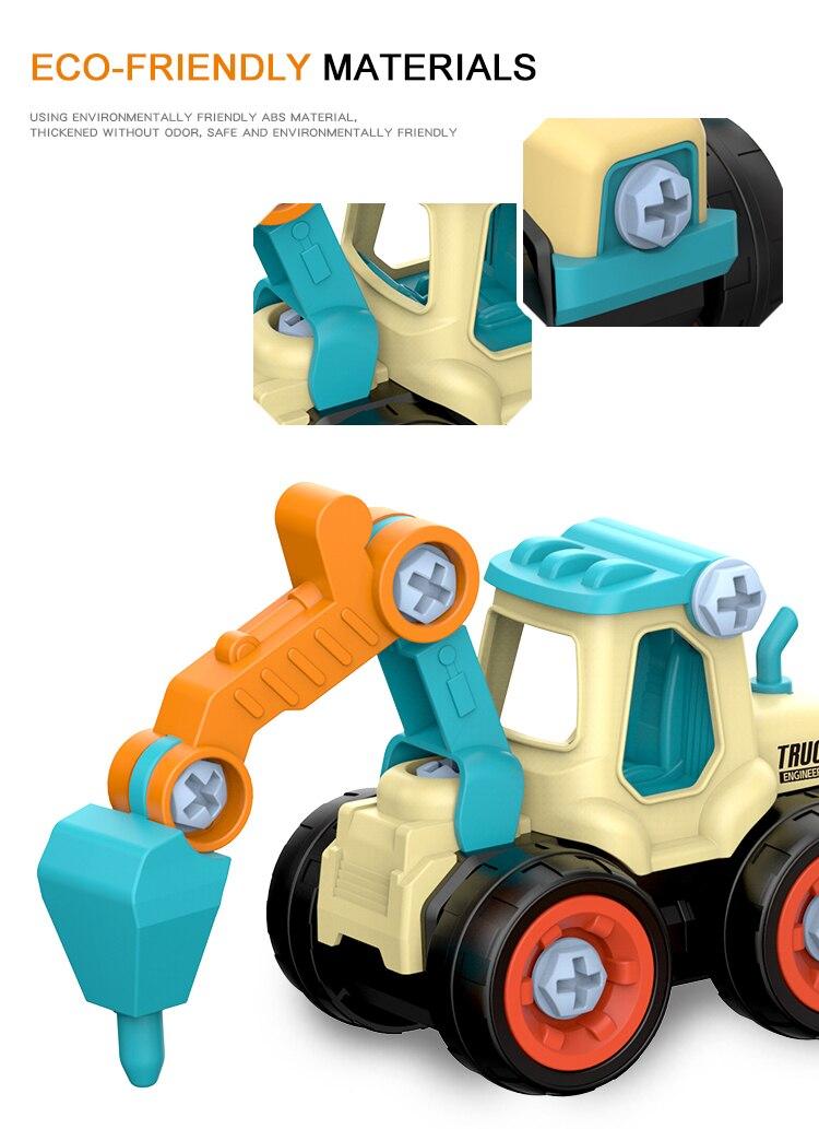 DIY Truck Engineering Toys 10