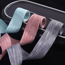 100yards 7 10 16 25 40mm snowflake texture ribbon for bouquet flower packing package hair bow diy accessories craft supplies