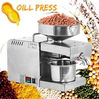Oil Press 220V automatic cold press oil machine 1500W oil cold press machine sunflower seeds oil extractor high oil extraction