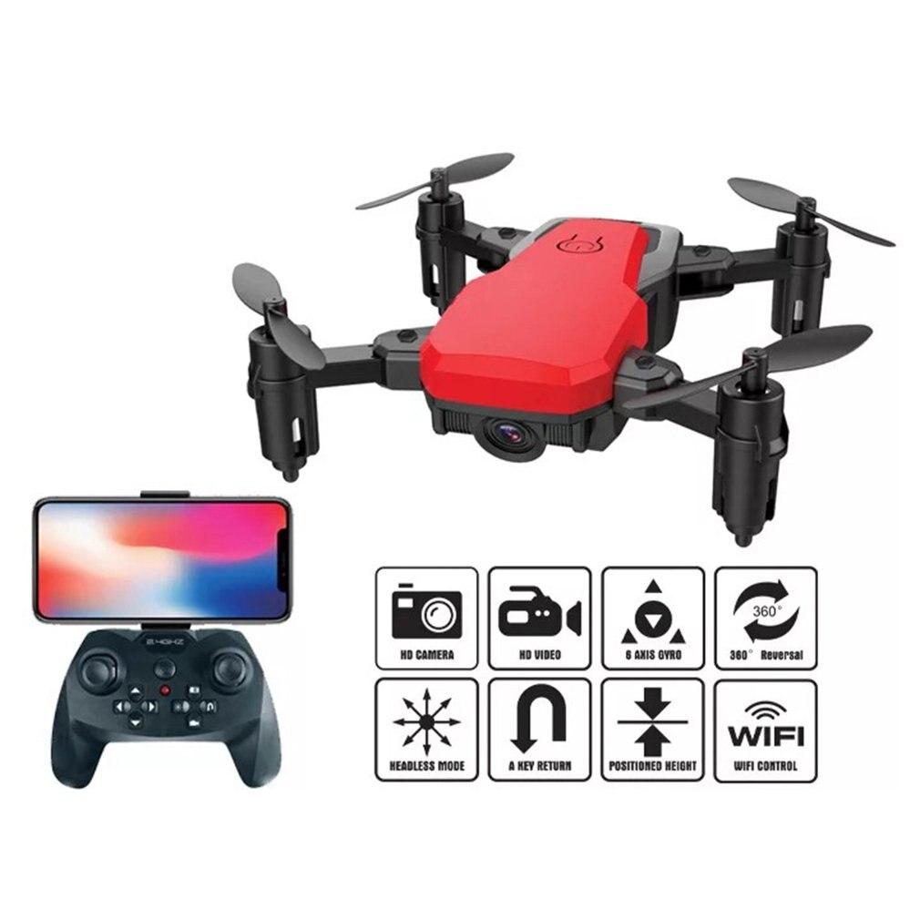 2019 HJ20 mini folding drone 200W WiFi fixed high whitemini RC with Mini Folding UAV toys for childeren best gifts