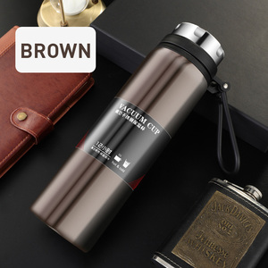 Image 4 - YIHAO 1000ML Hot Sale Double Wall Thermos Bottle Stainless Steel Vacuum Outdoor Large capacity Portable Travel Thermoses Flasks