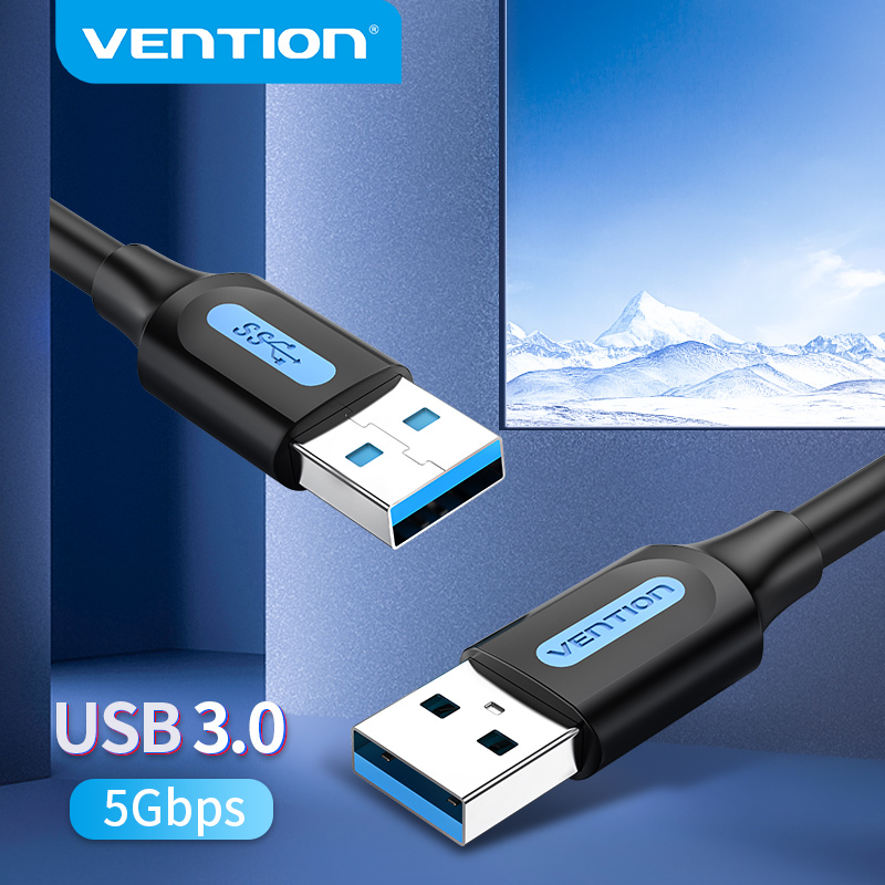 Vention USB 3.0 Extension Cable Type A Male to Male Cable 3.0 2.0 Extender Cord for Hard Drive TV Box Laptop USB to USB Cable