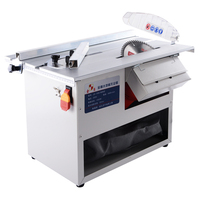 Wood Floor Dustless Saw Small Table Saw Woodworking Electric Saw Push Table Saw Cutting Machine
