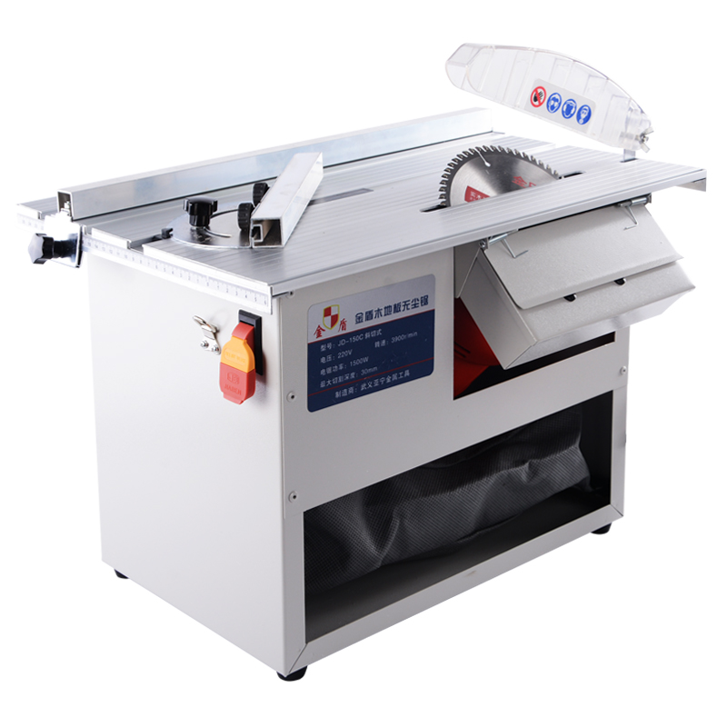 High Quality Wood Floor Dustless Saw Small Table Saw Woodworking Electric Saw Push Table Saw Cutting Machine