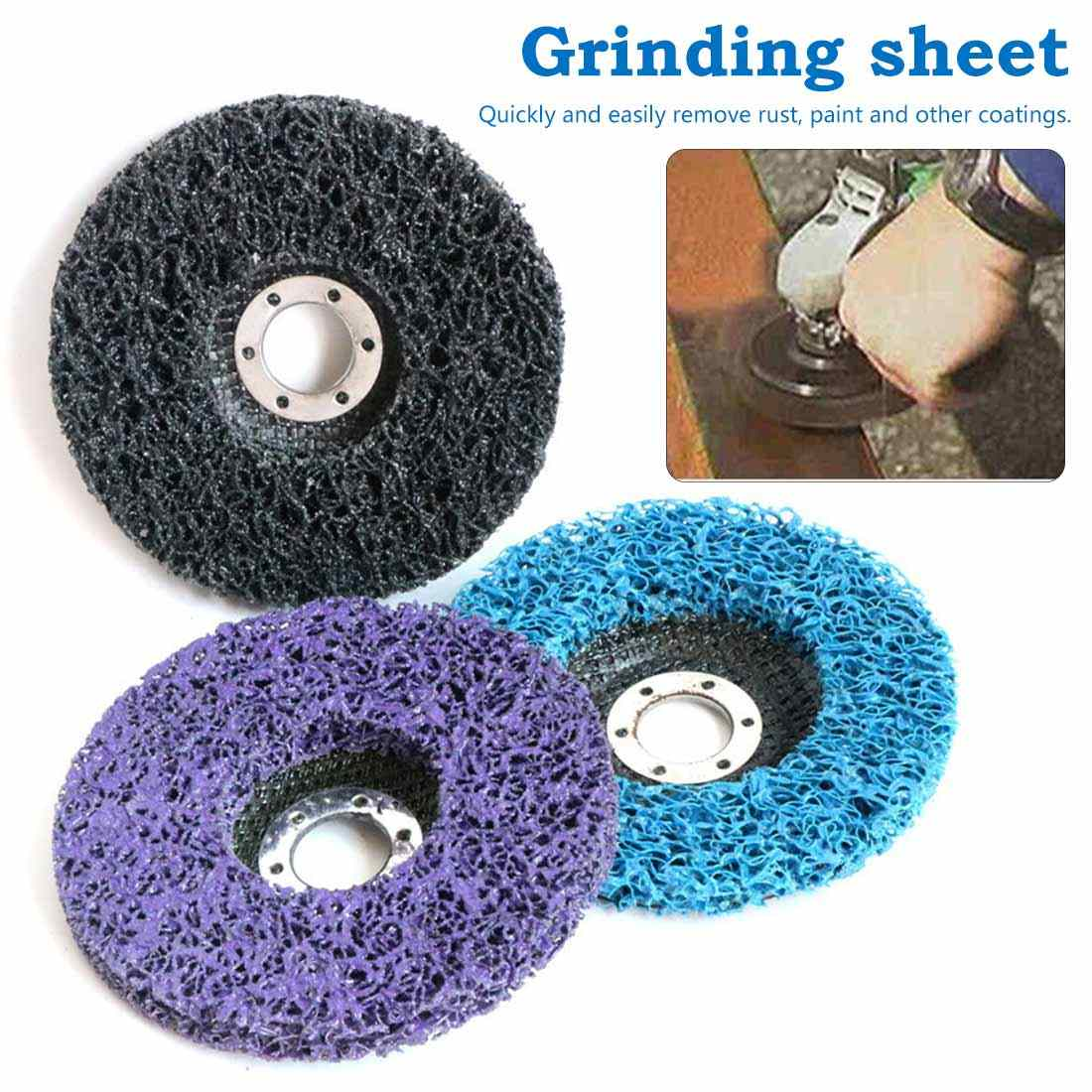 Durable Welding Pad 100x16mm Cleaning Strip Wheel Grinding Disc For Paint Rust Grinder Remover Tools Angle Grinder
