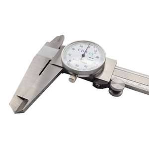 Image 3 - الطلب الفرجار 0 150 0 200 300 مللي متر 0.01 مللي متر صناعة عالية الدقة الفولاذ المقاوم للصدأ الورنية الفرجار للصدمات متري أداة قياس