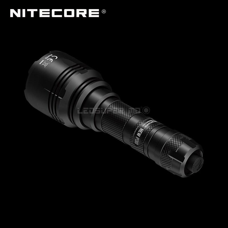 Next Generation Nitecore NEW P30 CREE XP-L HI V3 LED 1000 Lumens 21700 Hunting Flashlight With Beam Distance 618 Meters