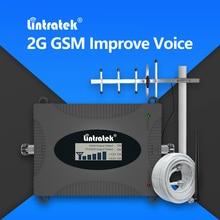 Lintratek GSM 2G 900โทรศัพท์มือถือสัญญาณRepeater 3G UMTS 900โทรศัพท์มือถือ900Mhz 8 Booster Amplifierรัสเซียจัดส่งฟรีสำหรับCall