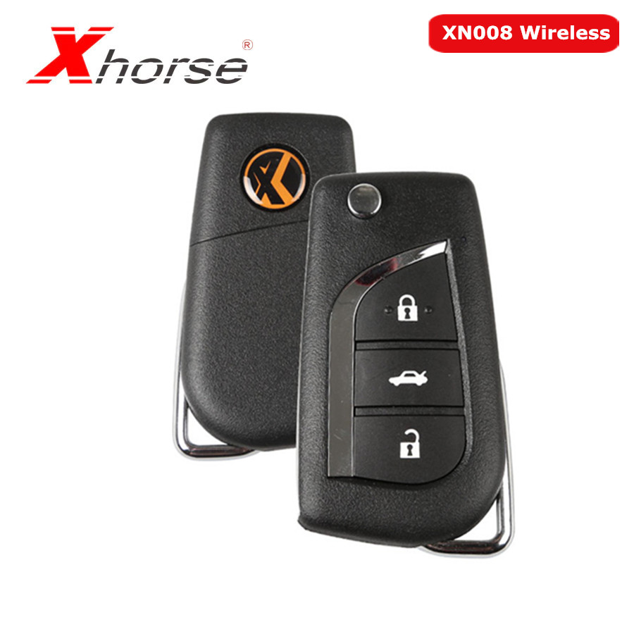 Xhorse VVDI2 For Toyota Type Wireless Universal Remote Key 3 Buttons XN008 Wireless Remote Key 5 Pcs/lot