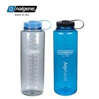 Nalgene 1500ml o dużej pojemności outdoorowy zbiornik w kształcie czajnika mężczyzn i kobiet fitness sportowy kubek na wodę turystyka rowerowa podróż plastikowa butelka|Butelki sportowe|Sport i rozrywka -