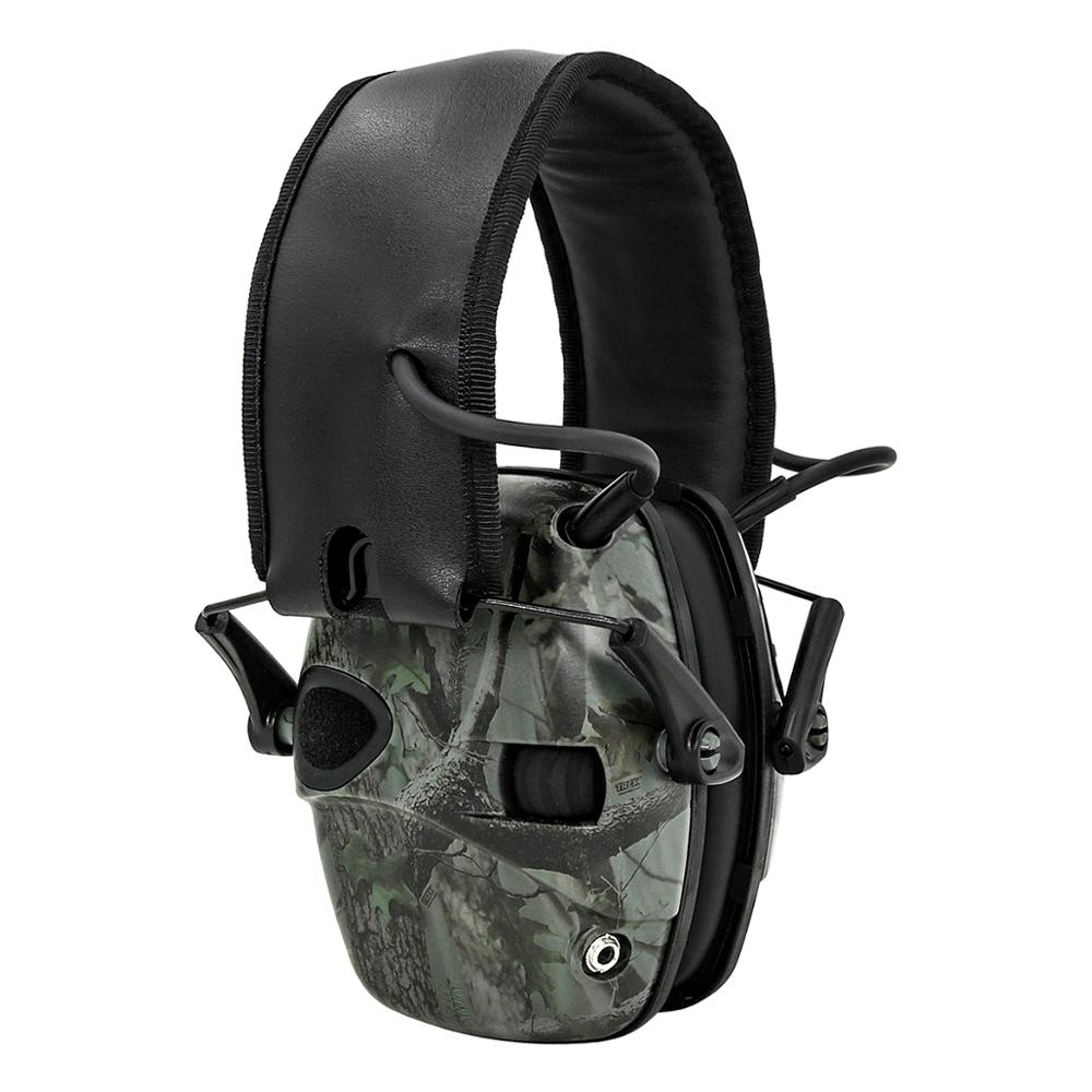 Electronic Ear Muff Tactical Headset Anti-noise Sound Amplification Shooting Hunting Hearing Protection Protective Earmuffs