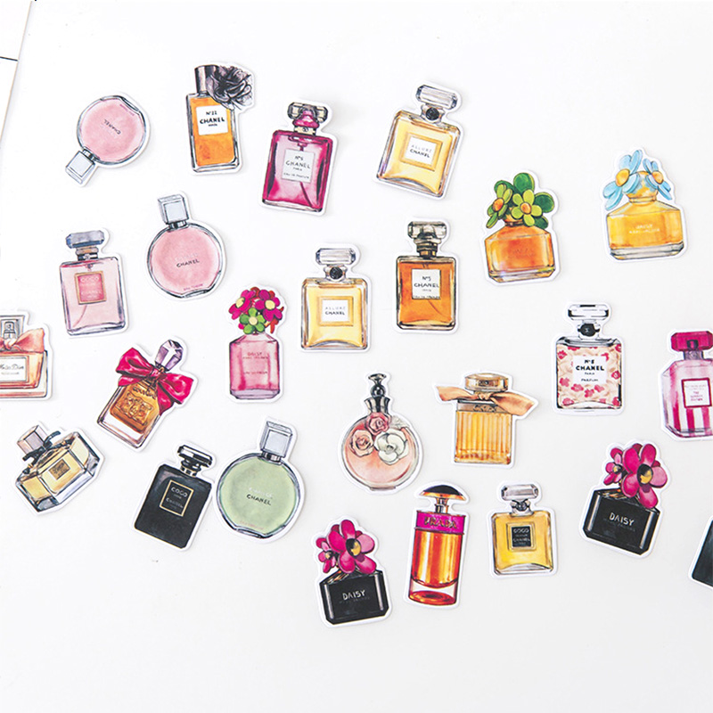 Kawaii Perfume Washi Stickers Cute Decoration DIY Diary Scrapbooking Label Sticker Stationery Gift School Supplies